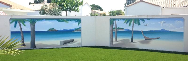 fresques murales en trompe l 39 oeil int rieure ext rieures fresque murale en trompe l 39 oeil. Black Bedroom Furniture Sets. Home Design Ideas
